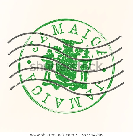 почты Ямайка изображение штампа карта флаг Сток-фото © perysty
