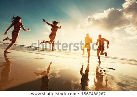 Tourists in Summer Stock photo © photography33