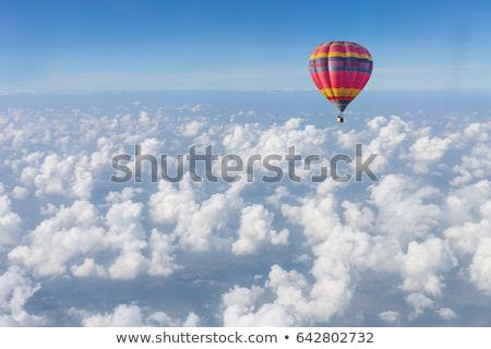 воздушном шаре спорт лет красный горячей Сток-фото © DonLand