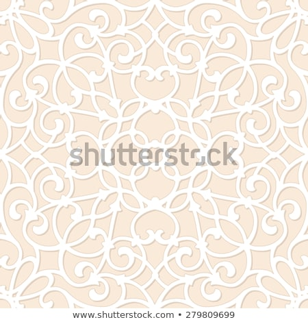 Vector Seamless Pattern with Lacy Elements Stock photo © alexmakarova
