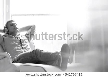 gündelik · adam · ceket · sıkı · genç - stok fotoğraf © feedough