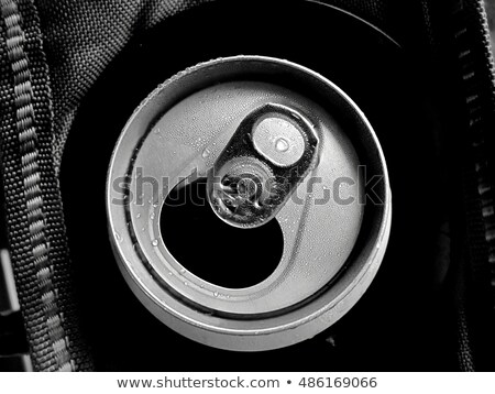 aluminum can top macro Stock photo © alptraum