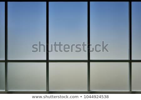 minta · üveg · fal · víz · épület · építkezés - stock fotó © vichie81