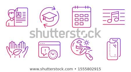 job education in arrows Stock photo © marinini