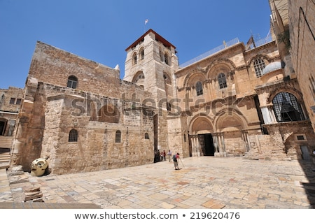 Door On Jerusalem Church Stock photo © searagen