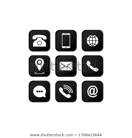 веб адрес кнопки вектора технологий почты Сток-фото © burakowski