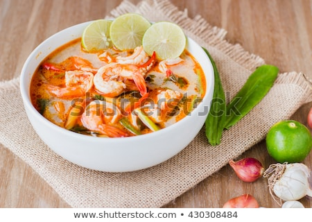 Ingredients for Thai tom yam soup Stock photo © juniart