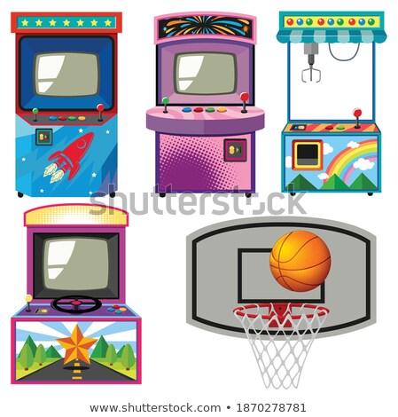 Afbeelding televisie ontwerp technologie Stockfoto © leonido