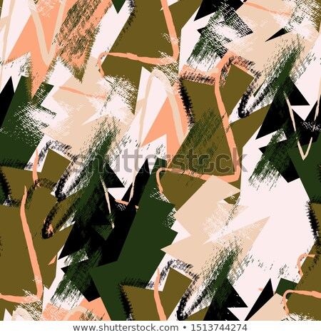 Abstrato artístico forma folha quadro arte Foto stock © pathakdesigner