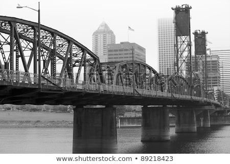 Hawthorne drawbridge in Portland, Oregon Stock photo © AndreyKr