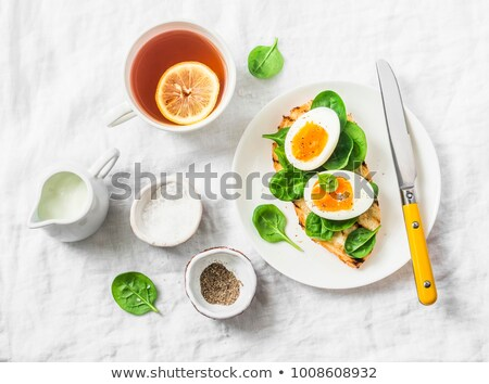 vegyes · olajbogyók · kenyér · olívaolaj · petrezselyem · étel - stock fotó © ozgur