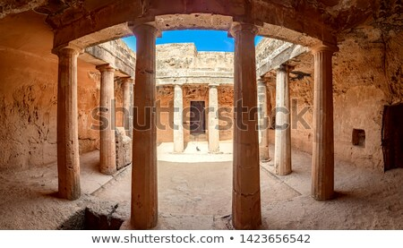 the tombs of the kings paphos cyprus stock photo © kirill_m