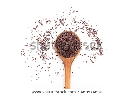 Top view of Organic Small Brown Mustard. Stock photo © ziprashantzi