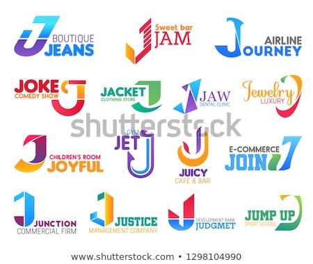 Letter J for jet Stock photo © bluering