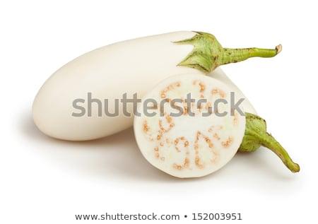 Stock fotó: Padlizsán · fehér · természet · gyümölcs · lila · egészséges