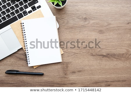 Kutatás fa asztal szó iroda gyermek üveg Stock fotó © fuzzbones0