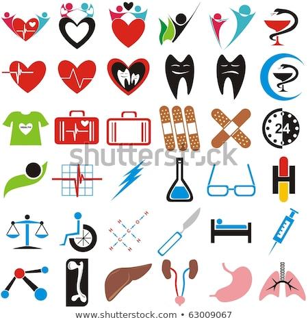 Colección humanos símbolos realista Foto stock © Tefi