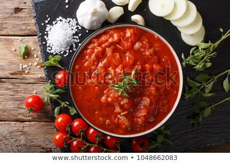 thick tomato sauce Stock photo © Digifoodstock