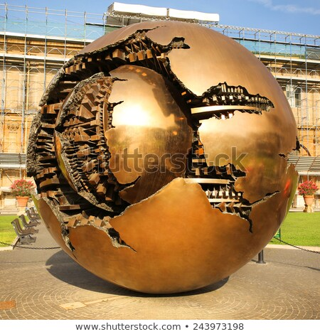 strange sphere Stock photo © MONARX3D