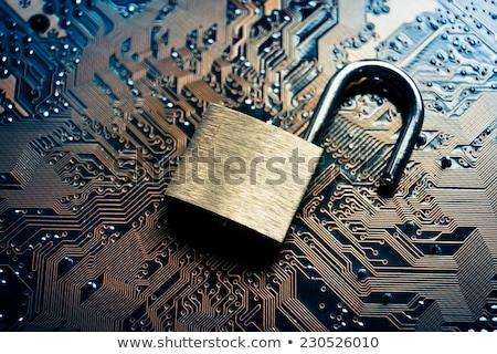Adat kódolt digitális információ törés kód Stock fotó © Lightsource