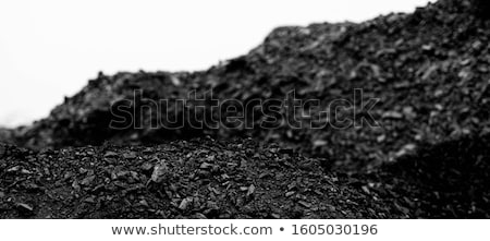Background of heaps of coal. Stock photo © RAStudio