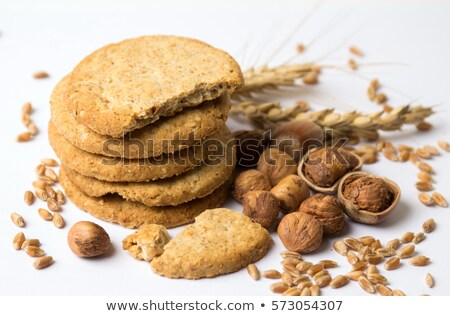 Oatmeal cookies with hazelnuts Stock photo © Lana_M