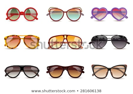 summer sunglasses icon closeup vector illustration stock photo © robuart