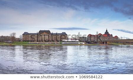 Treasury building, Dresden, Germany Stock photo © borisb17