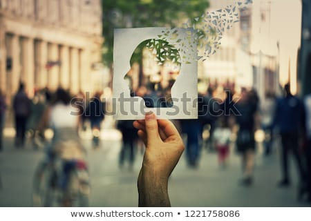 Concept Of Losing Brain Function Stock photo © Lightsource