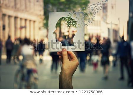 maladie · d'alzheimer · perte · de · mémoire · démence · cerveau · maladie · résumé - photo stock © lightsource