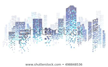 不動産 抽象的な 代理店 住宅の 産業 商業 ストックフォト © RAStudio