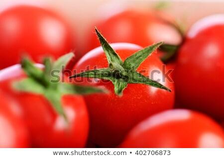 pomodoro · primo · piano · isolato · bianco · alimentare - foto d'archivio © PeterP
