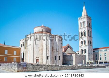 chiesa · Croazia · inizio · fondazione · antica · romana - foto d'archivio © rognar