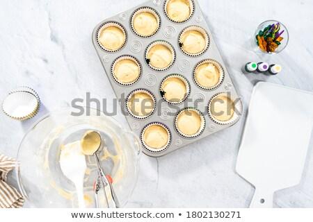 Holiday cupcakes Stock photo © aladin66