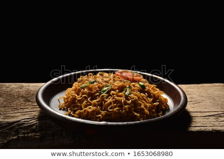 Stock photo: asian egg noodles