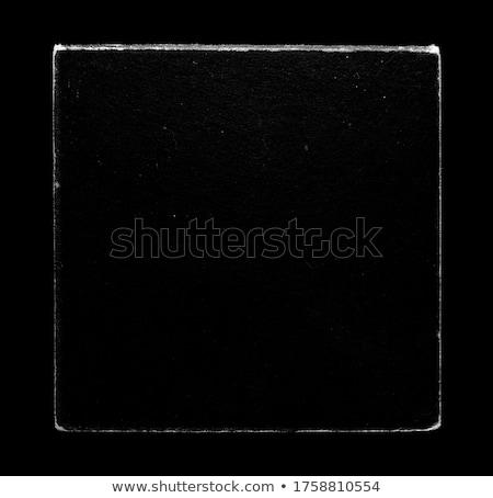 vinil · cobrir · isolado · branco · fundo · caixa - foto stock © lirch