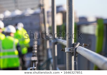 steiger · bouwplaats · huisvesting · huis · gebouw - stockfoto © xedos45