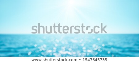 Bokeh summer sea background Stock photo © mythja