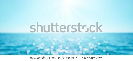 bokeh summer sea background stock photo © mythja