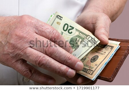 Wallet with dollar Stock photo © jossdiim