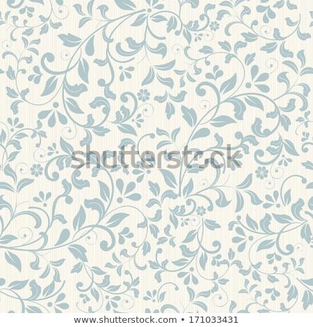 бесшовный · цветочный · аннотация · дизайна · лист · лет - Сток-фото © isveta