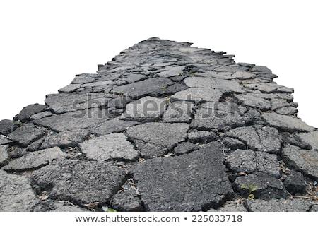 Broken Road Texture Stock photo © pinkblue