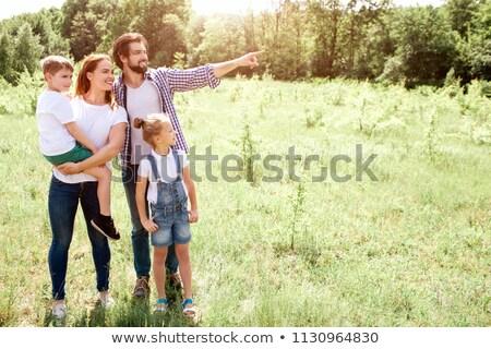 mère · fils · pique-nique · père · pêche · femme - photo stock © photography33