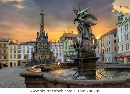 The historical square of Olomouc (Czech Republic) Stock photo © frank11