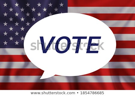 democrata · republicano · cédula · papel · EUA · eleições - foto stock © bbbar