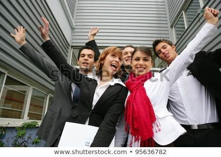 a team of motivated and dynamic office workers stock photo © photography33