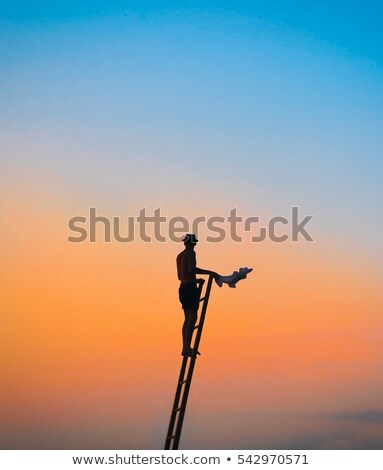 man blowing his top stock photo © photography33