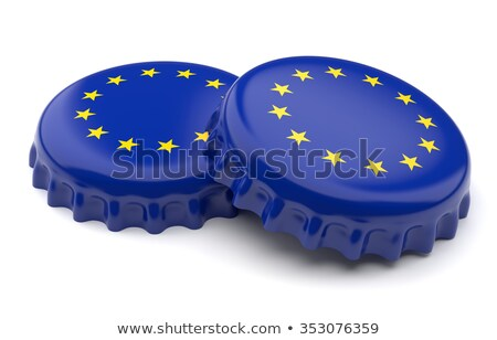 флаг европейский Союза корона Cap дети Сток-фото © experimental