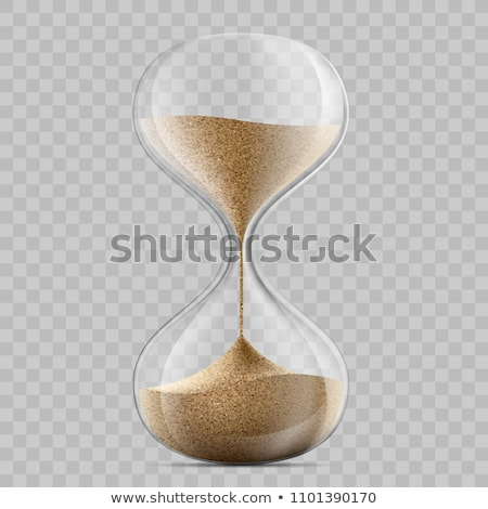 песочных часов время Время-деньги песок Финансы Смотреть Сток-фото © idesign