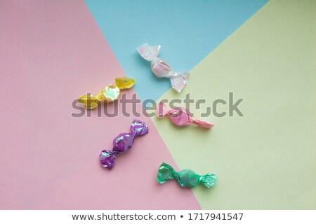 Renkli şeker büyük yüzey parti tıp Stok fotoğraf © filmcrew